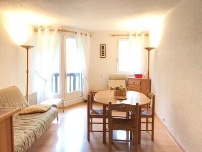 Location PIED DES PISTES Les Orres 1650 - Rés. Pic Vert - Appartement T2 8 Pers.