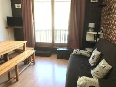 Location COEUR STATION Les Orres 1650 - Rés. Carlines - Duplex T2 8 Pers. Vue Pistes